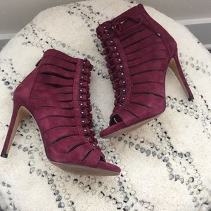 Vince Camuto Fionna Suede Heels, Size 6.5